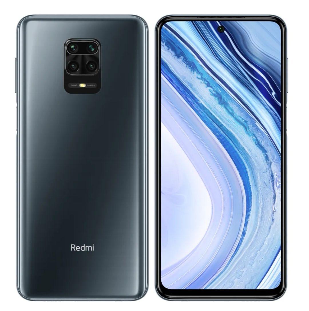 Smartfon XIAOMI REDMI NOTE 9 Pro 6/64GB Szary zielony biały