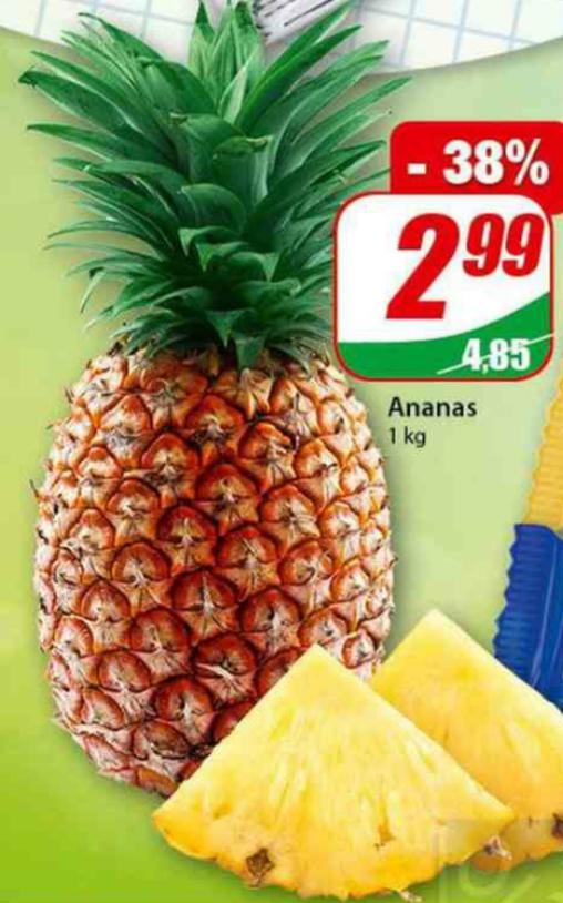 Ananas 1kg. Dino