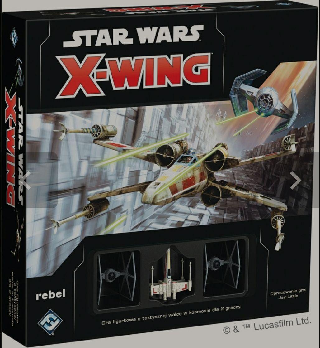 X-wing gra figurkowa (planszowa) zestaw podstawowy (2 edycja)