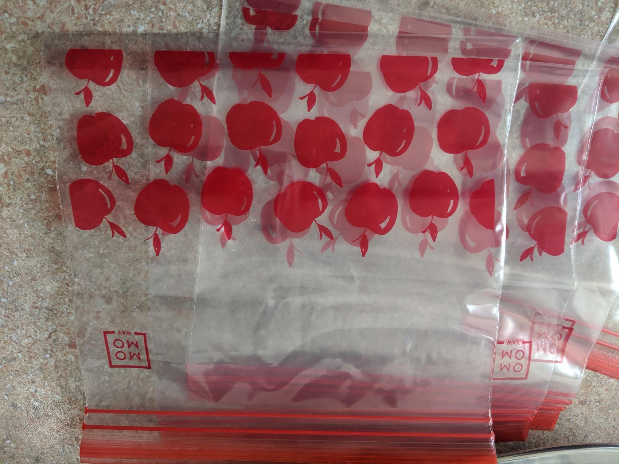 Woreczki strunowe MOMO WAY duże 50szt 2 rozmiary 7.99zł lub małe 60szt 2 rozmiary 5.99zł. Rossmann