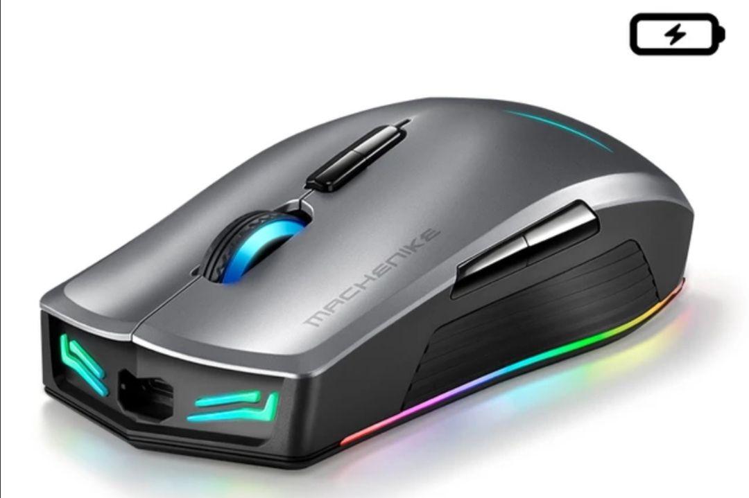 Bezprzewodowa mysz do gier Machenike M7 16000 DPI OMRON RGB $12,63