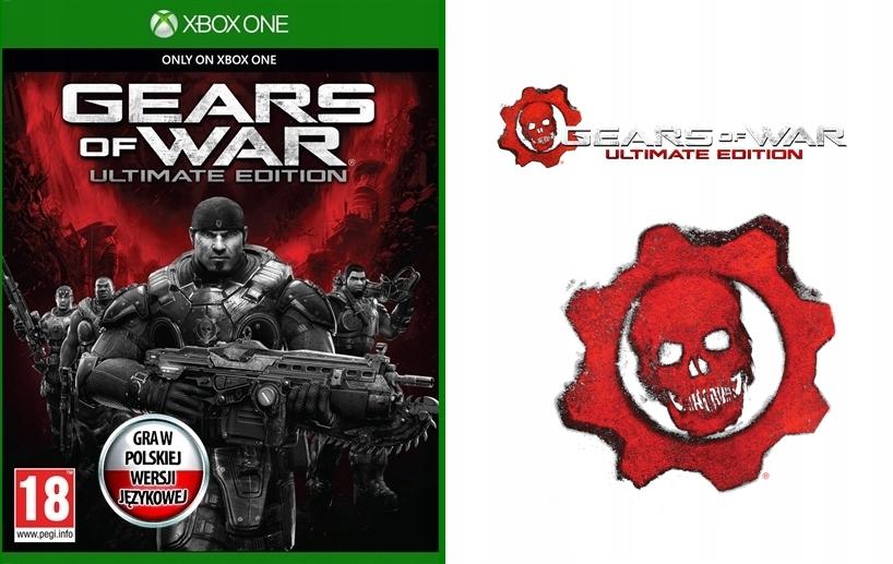 GEARS OF WAR ULTIMATE + NALEPKI ! PL ! NOWA-PŁYTA @ Xbox One