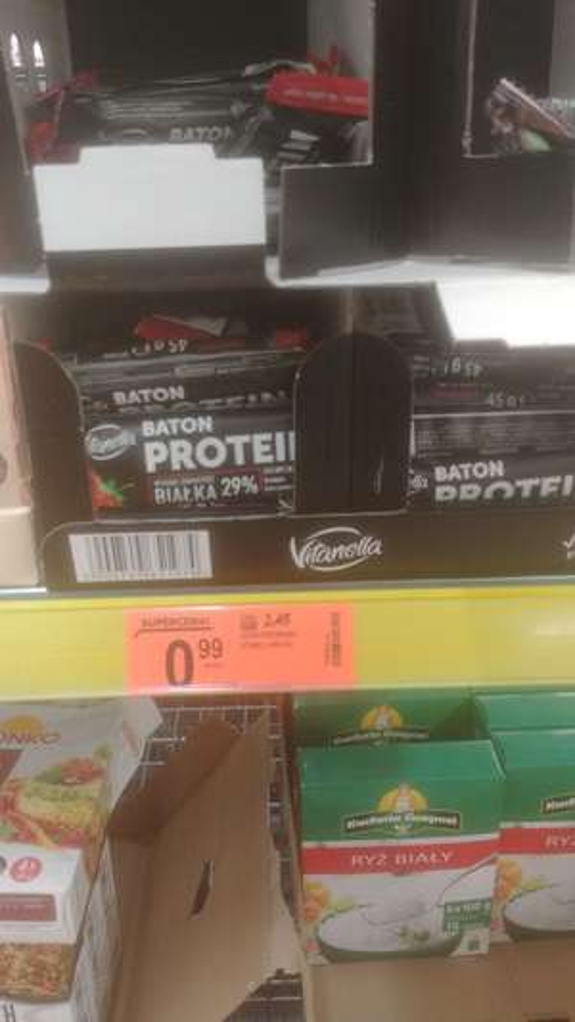 Baton proteinowy Vitanella Radom Biedronka