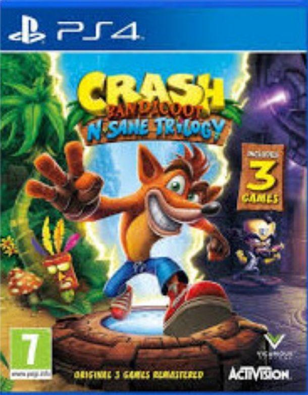 Crash Bandicoot N.Sane Trilogy 87zl Nitro Fueled 97zl PS4 @ Merlin.pl
