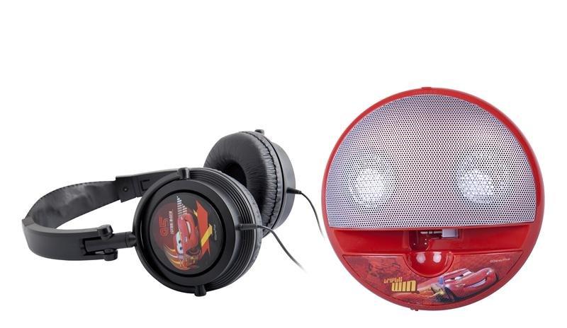 Zestaw ARKAS Disney: słuchawki i głośnik Cars za 44,19zł + możliwe 25zł na kolejne zakupy @ Empik