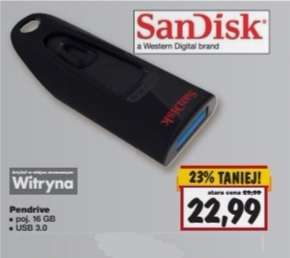 Pendrive SanDisk 16GB @Kaufland
