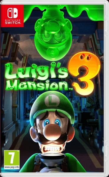 Luigi Mansion 3 eshop SWITCH