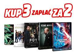 Filmy Blu-ray, DVD 3 za 2 Media Markt