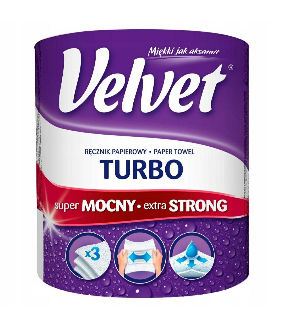 Ręcznik Velvet Turbo w Biedronce za 9.49 zł