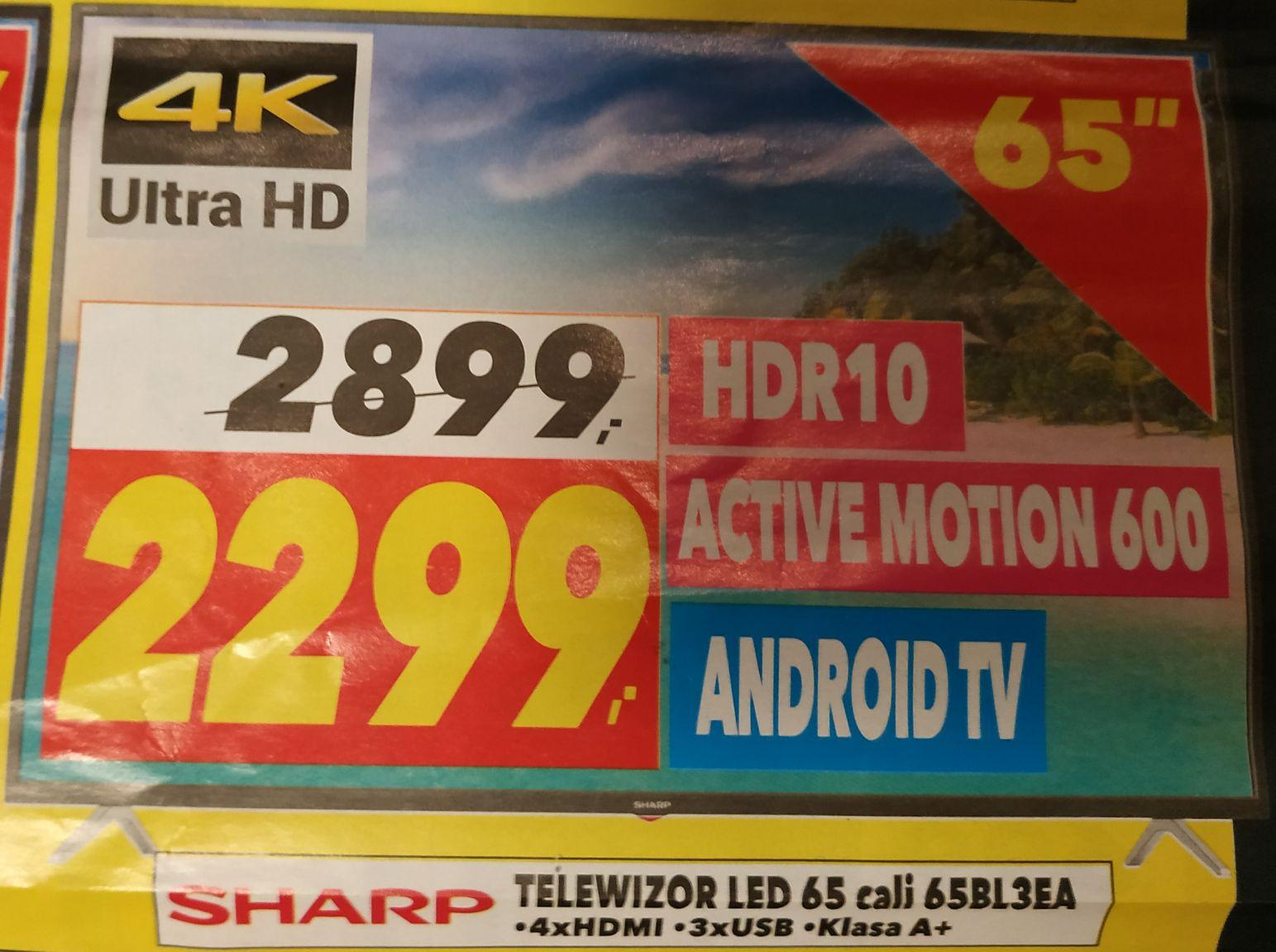 Telewizor Sharp 65BL3EA - Euro RTV AGD