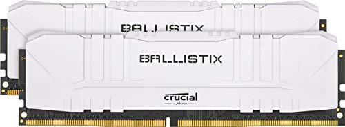 Crucial Ballistix DDR4 2x8GB (3200 CL16) Białe// Czarne (273), RGB (3000 CL 15) za 320 PLN