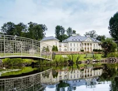 Małopolska: pokój standard dla 2 osób - śniadanie, dostęp do SPA i inne w Pałacu Śmiłowice 4*