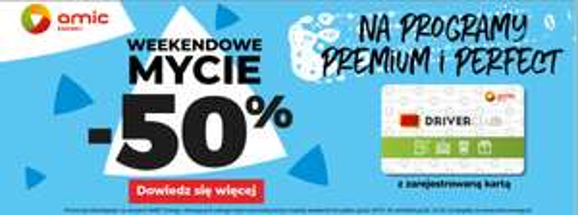 -50% mynia na AMIC