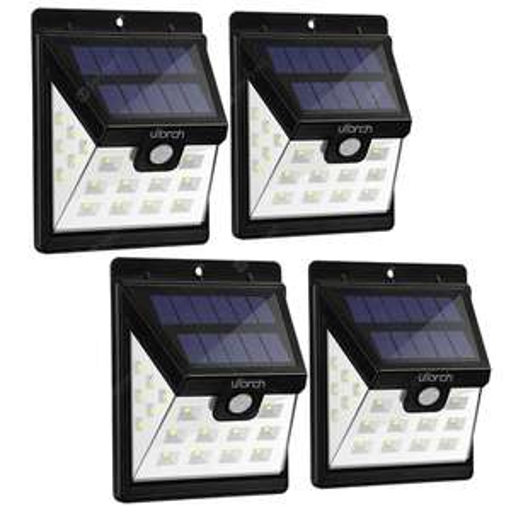 4 lampy solarne Utorch HJ001(22 LED) @Gearbest