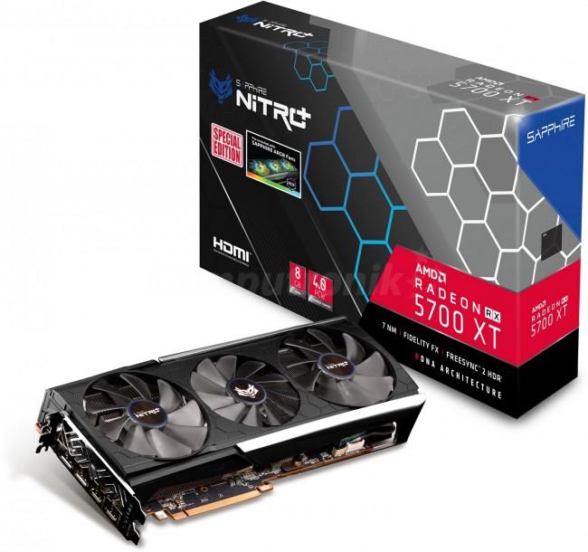Sapphire Radeon RX 5700 XT Nitro + SE