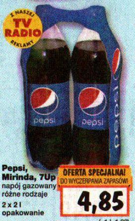 2x2L Pepsi, Mirinda i 7UP @Kaufland