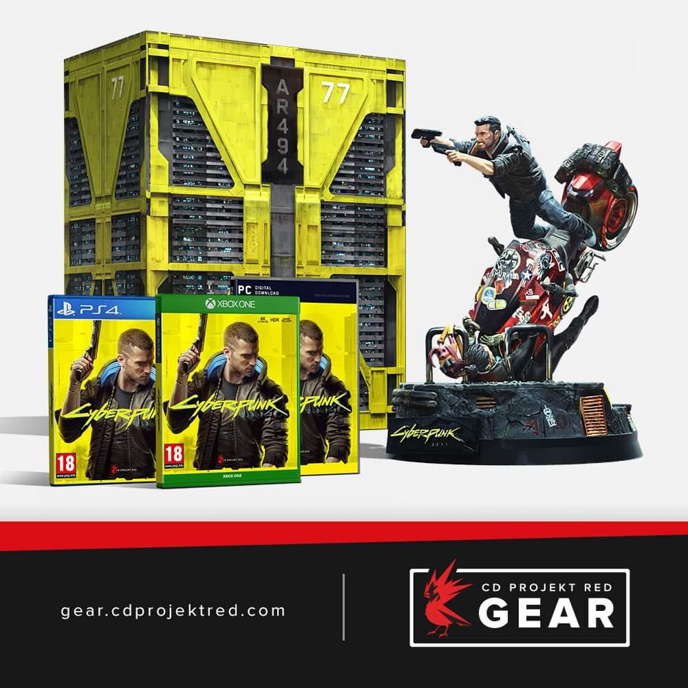 GRA Cyberpunk 2077 Edycja kolekcjonerska PC PS4 Xbox