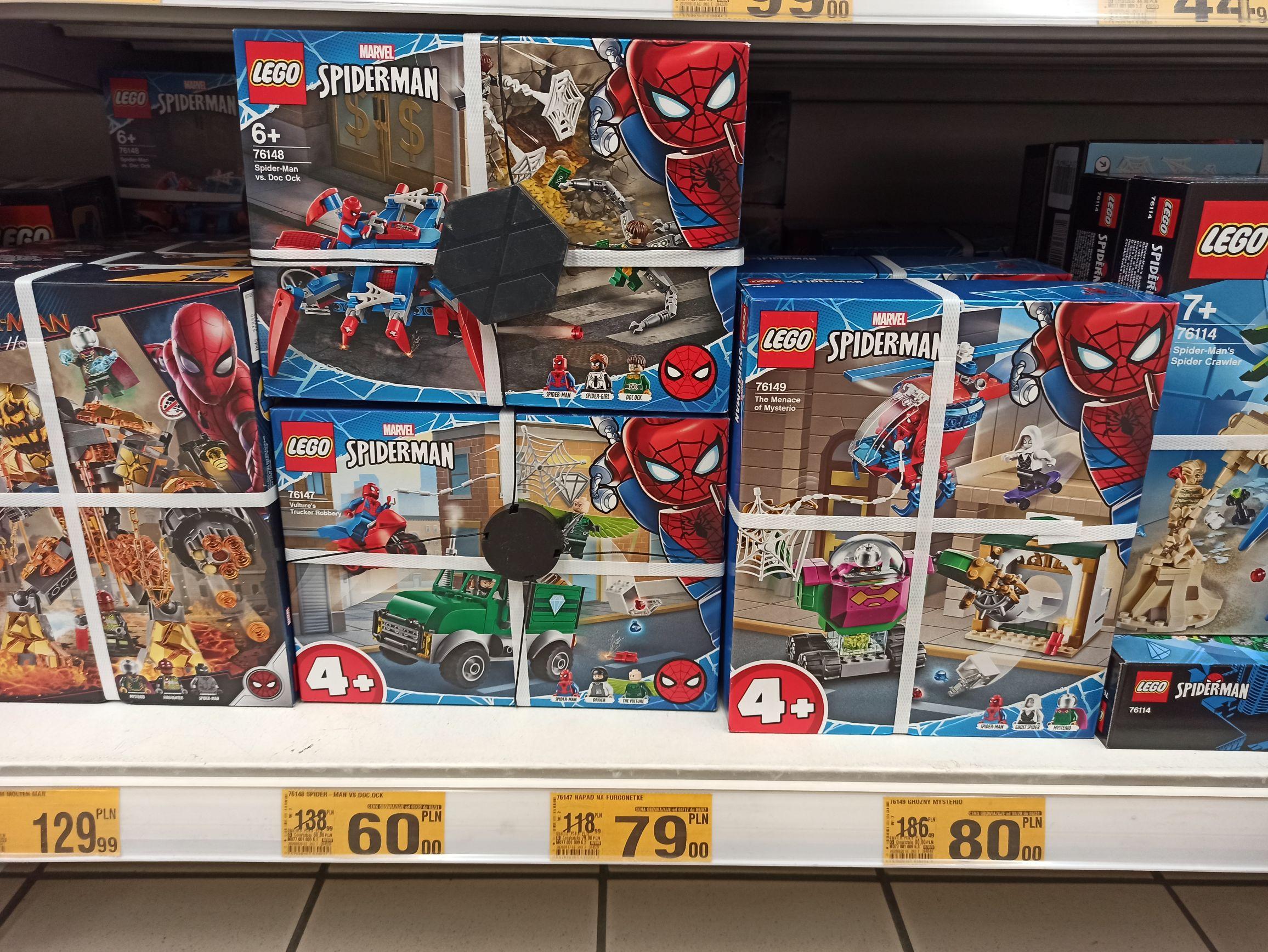 LEGO Spiderman 76148, 76149 - Wrocław KoroNa