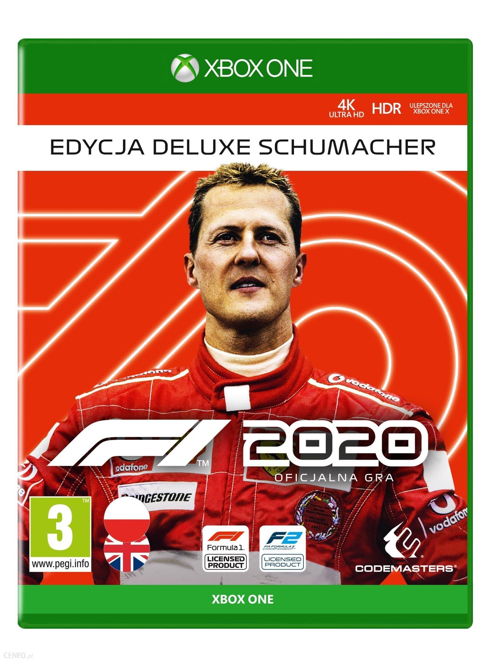 F1 2020 - Edycja Deluxe Schumacher (Xbox One) VPN