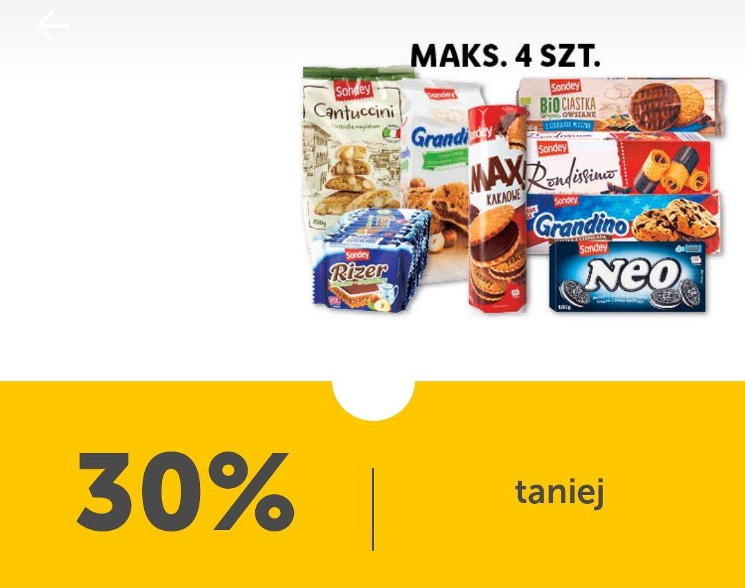 Słodycze marki Sondey 30% taniej - Lidl