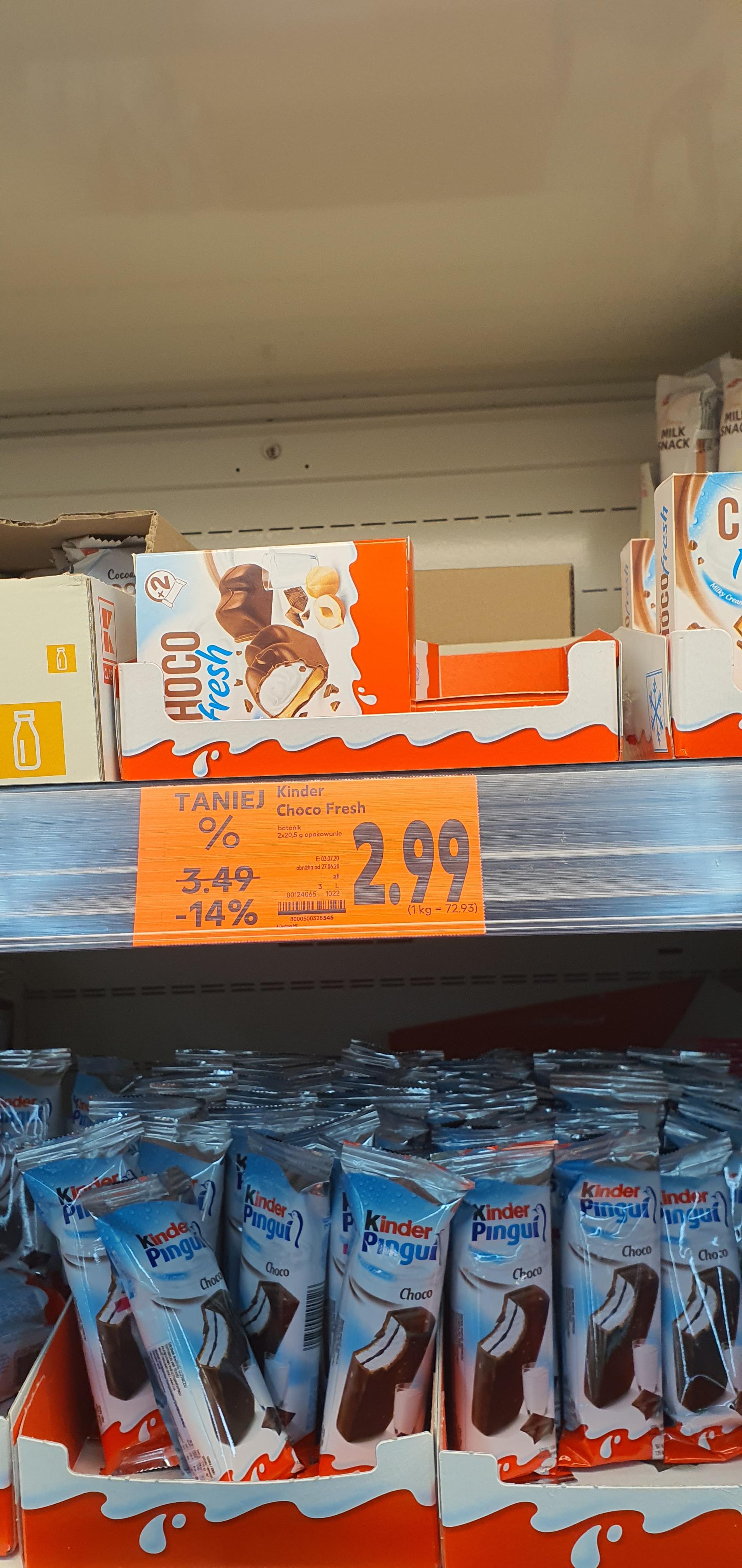 Kinder choco fresh kaufland
