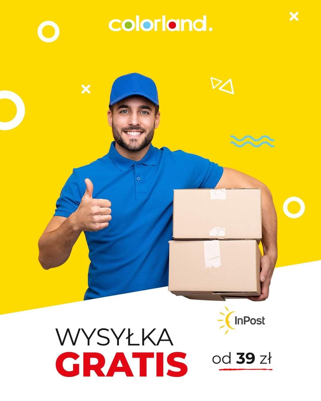 Colorland - Darmowa dostawa fotoproduktów od 39 zł