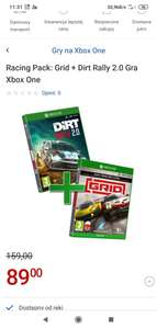 Racing Pack: Grid + Dirt Rally 2.0 Xbox One PS4