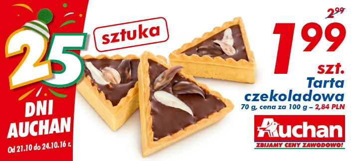 Tarta czekoladowa szt @Auchan