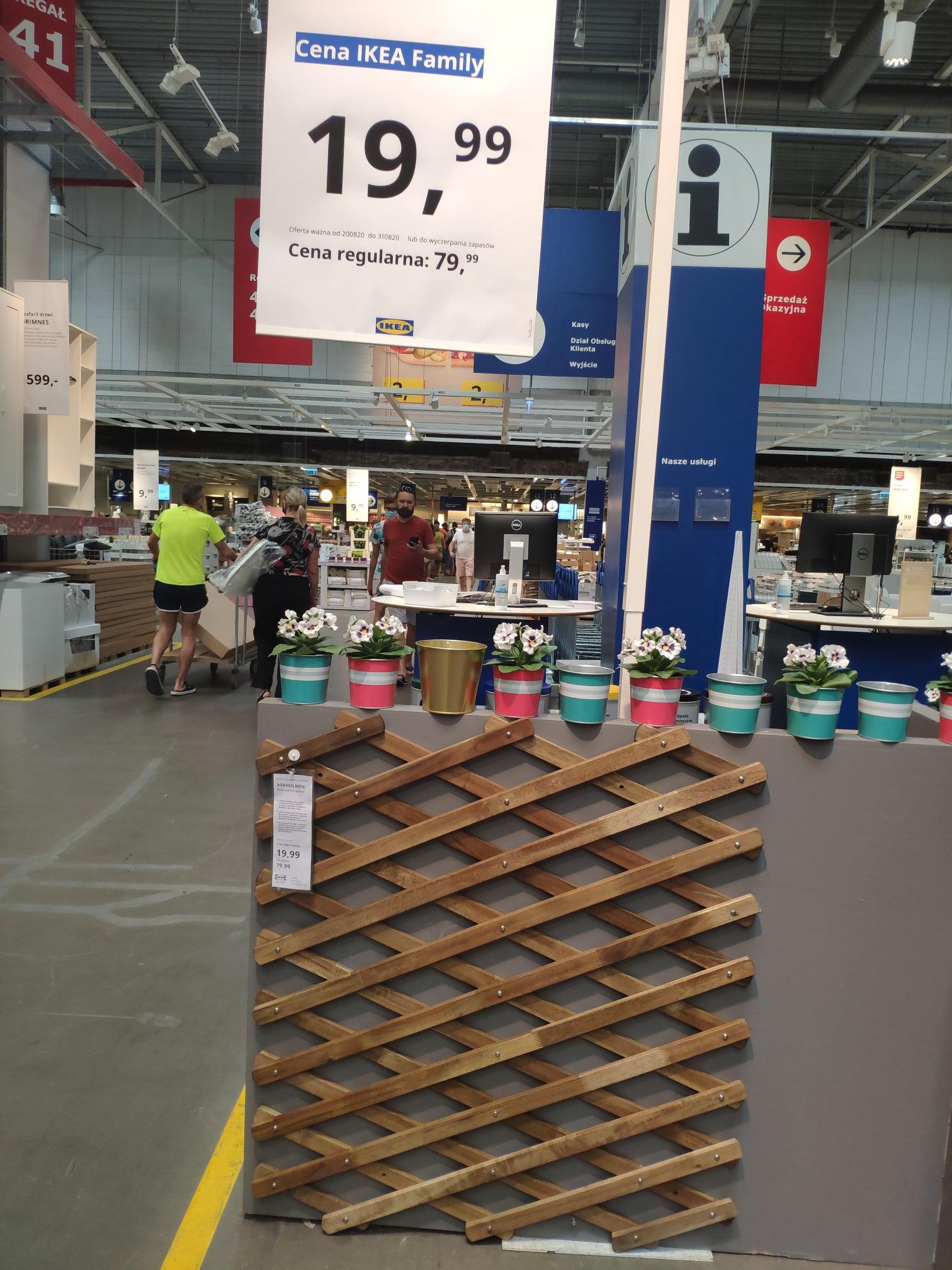 Kratka do upinania kwiatów Ikea Katowice