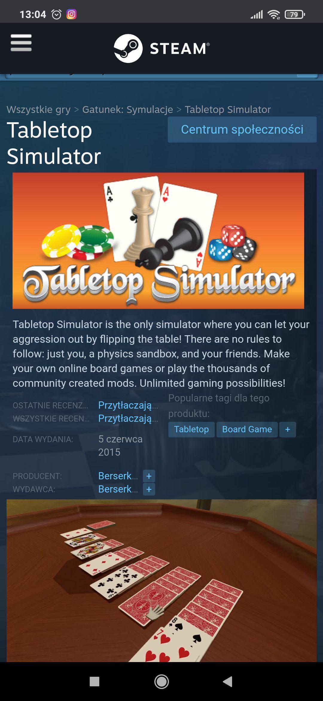 Tabletop Simulator na Steam w promocji