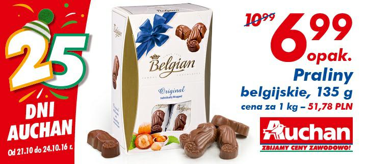 Praliny belgijskie 135 g/1 opak @Auchan
