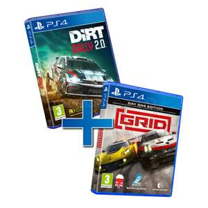 PS4 Racing Pack: Grid + Dirt Rally 2.0