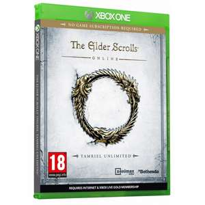 XBOXONE THE ELDER SCROLLS ONLINE TAMRIEL UNLIMITED