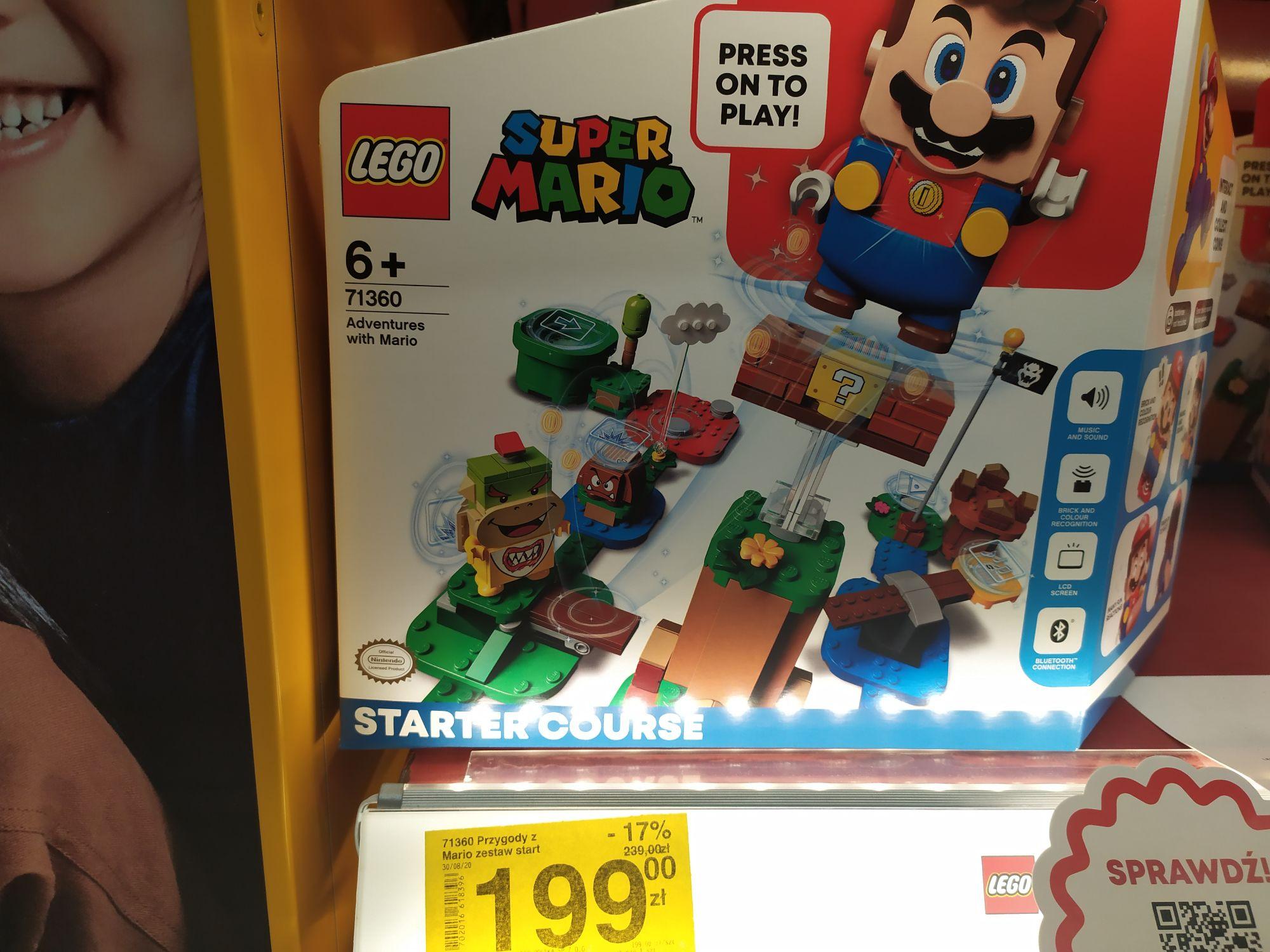 LEGO SUPER MARIO - ZESTAW STARTOWY 71360 (mozliwe 179,10zł z aplikacją)