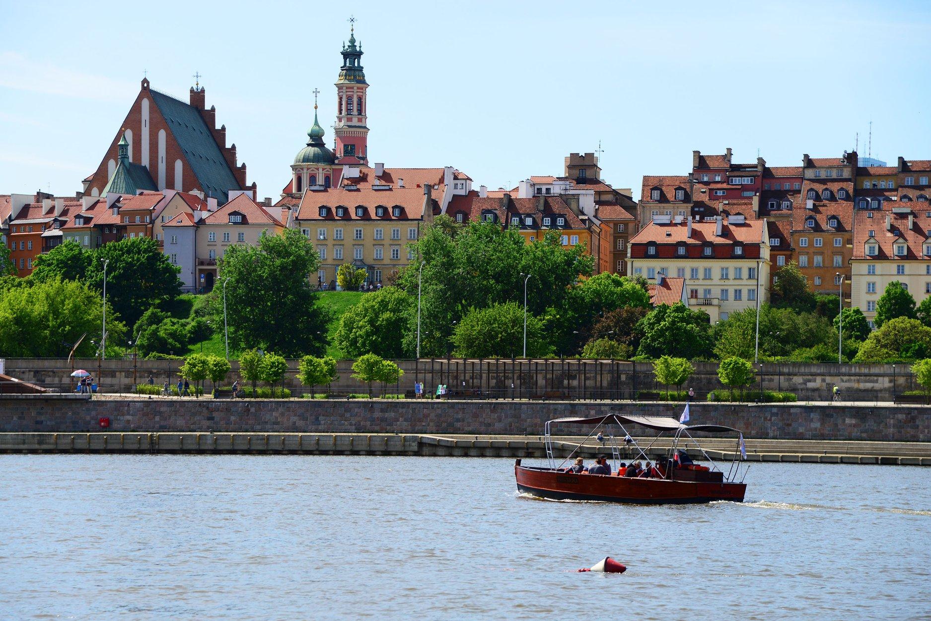 Bezpłatne rejsy po Wiśle (Warszawa)