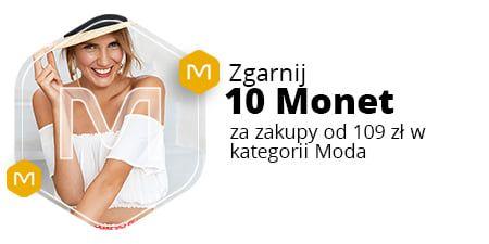 Allegro, +10 Monetprzy zakupach od 109 zł w kategorii Moda