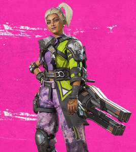 (Twitch/Amazon Prime) Rampart Skin, Mix Tape, Swimming Buddy - Apex Legends