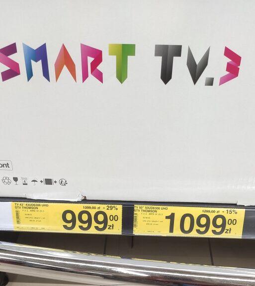 """TV 43"""" THOMSON 43UD6306UHD SMART TV"""
