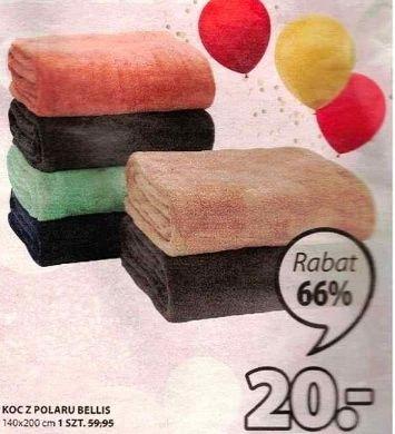 KOC Z POLARU BELLIS (różne kolory) oraz poduszki ozdobne za 20.00 zł - Jysk