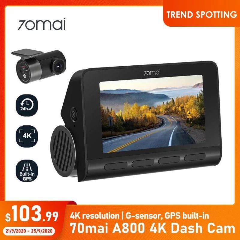 Kamera samochodowa 70mai A800 4K