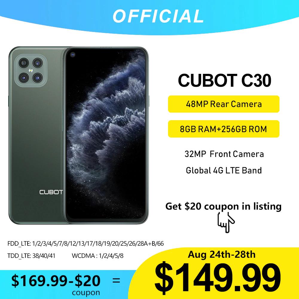 Cubot C30 - 8 GB ramu w telefonie za mniej niż 600zł.