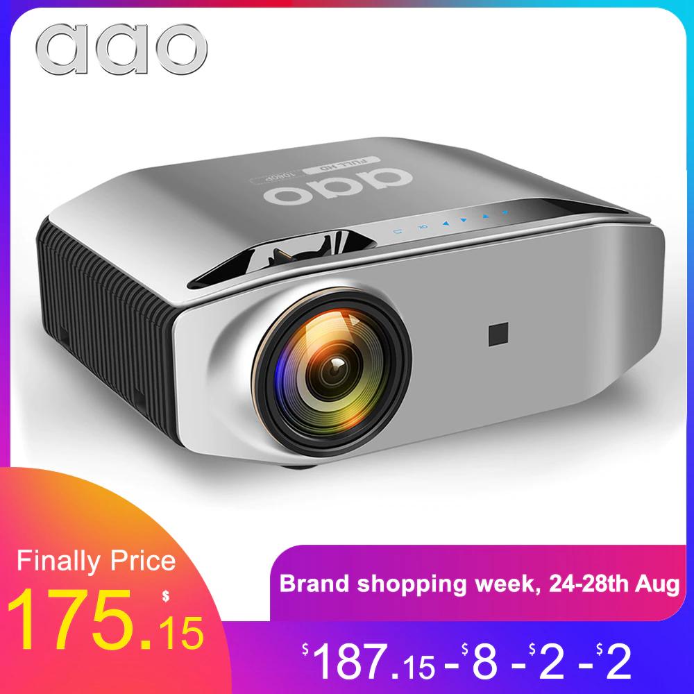 AAO projektor 1920x1080P 3D wideo YG 621 wysyłka z Hiszpani
