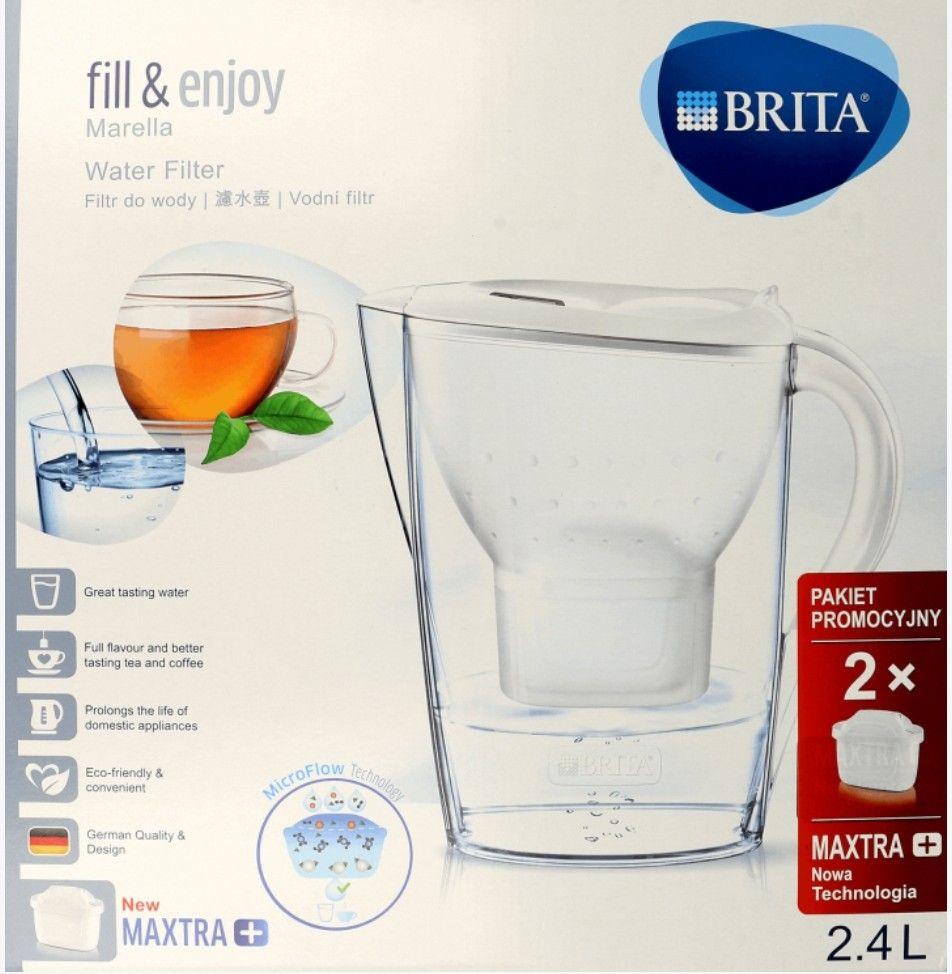 Dzbanek filtrujący Brita Marella 2,4l + 2 filtry