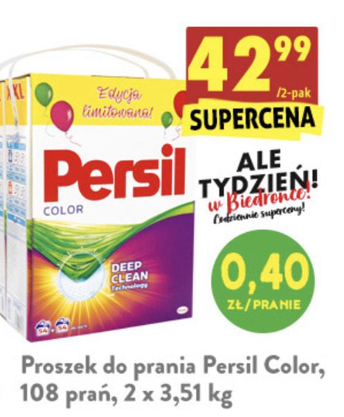 Proszek Persil 2x3,51 kg