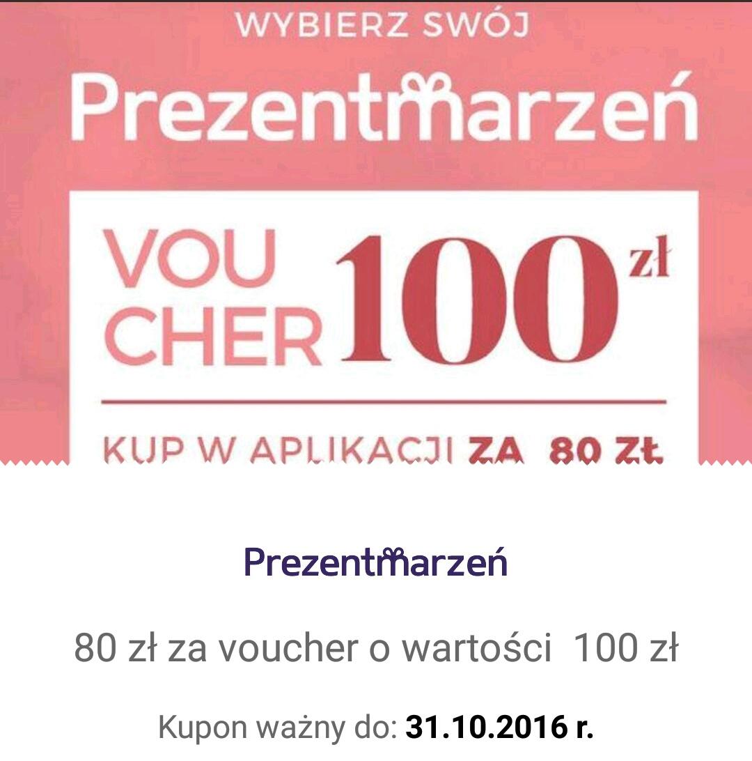QPONY: Voucher o wartości 100 zł do PrezentMarzeń za 80zł
