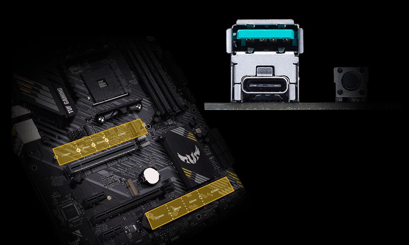 Płyta główna TUF GAMING B550-PLUS + 10 gier + myszka +cashback 60zł