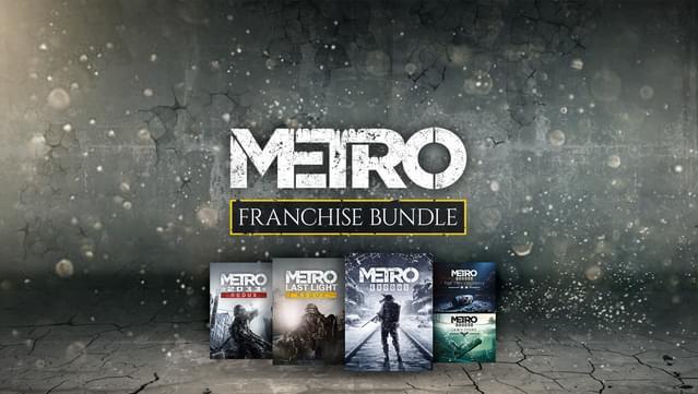 Promocja na wszystkie gry z serii Metro