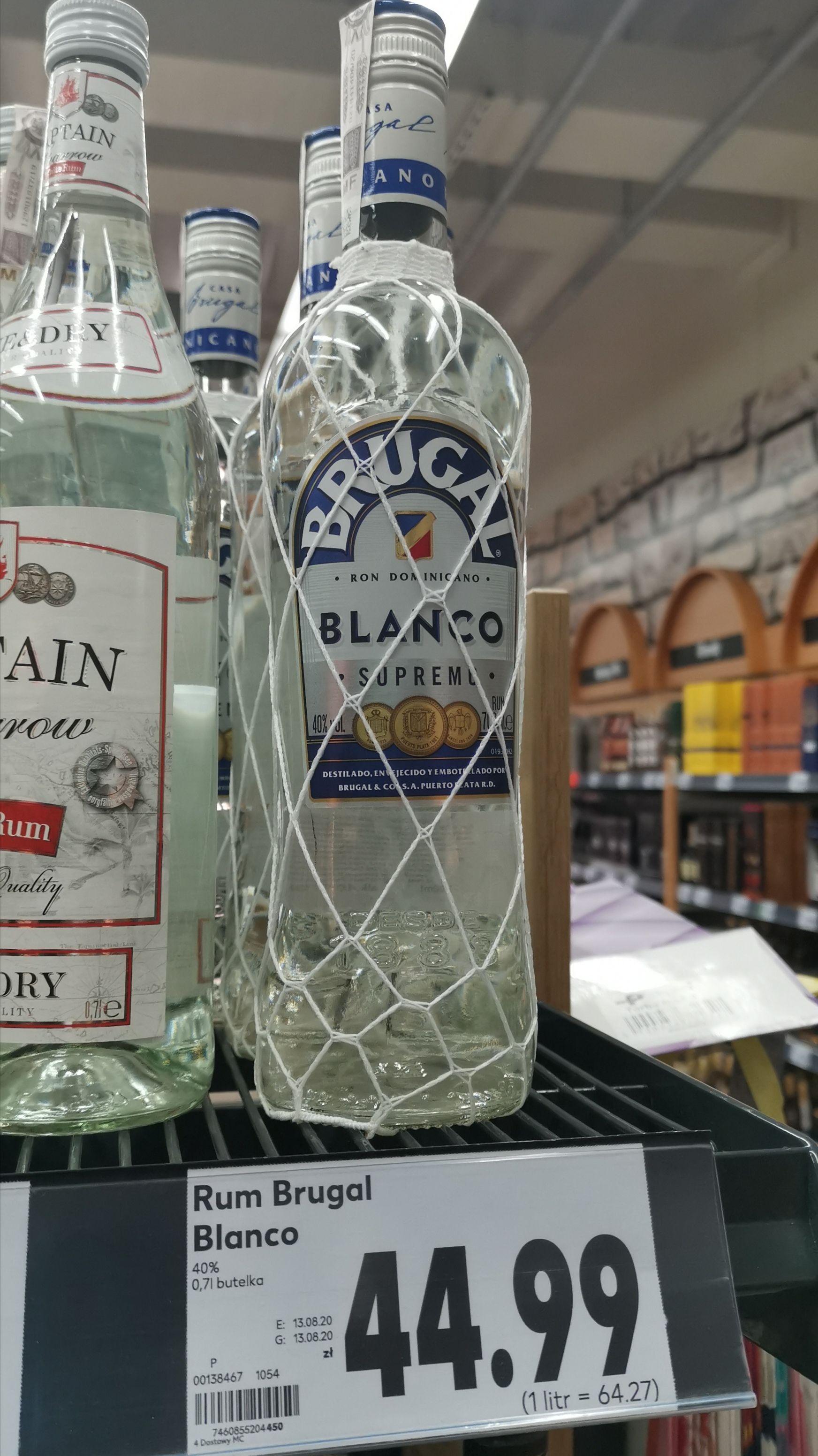 Rum BRUGAL BLANCO SUPREMO 0,7L Kaufland