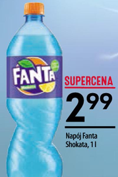 Fanta Shokata 1 litr @Żabka