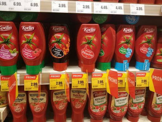 ZAKOŃCZONA! Ketchup Kotlin różne rodzaje @Intermarche za 2.99 zł